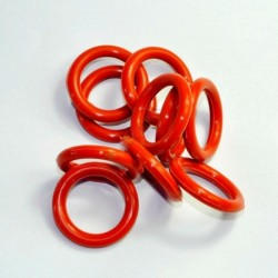 23mm ID 5mm Thickness Tube Dampers Silicone O-ring Amp For Shuguang 6V6GT 6SN7 6SL7 GZ34