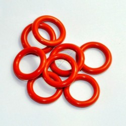 33mm ID 5mm Thickness Tube Dampers Silicone O-ring Amp For Shuguang 6L6G 6L6GC 6CA7 6L6GCR