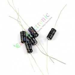 50v 22uf 105c Long Copper Leads Axial Electrolytic Film Capacitor Audio Amps