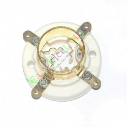 4pin Gold Ceramic Vacuum Tube Sockets for 2a3 300b 274a S4u Valve Audio Amps