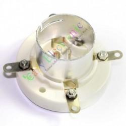 4pin Ceramic Vacuum Tube Socket Valve Base for Fu5 845 211 805 U4j Audio Amp