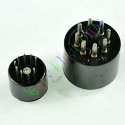 Bakelite Vacuum Tube Saver Socket Testing 9pin Fr 12ax7 + 8pin Octal DIY