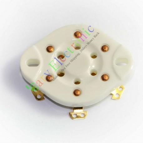 6 PIN Gold Ceramics Vaccum Tube Socket Saver for Vt57 Vt58 Audio Tube Amps