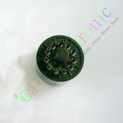 11pin Bakelite Vacuum Tube Sockets Valve Base Test Saver Audio Amp Diy Parts