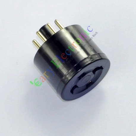 Bakelite Vaccum Tube Adapter Socket 8pin to 4pin 5z3 80 6a3 to 5u4g Gz37