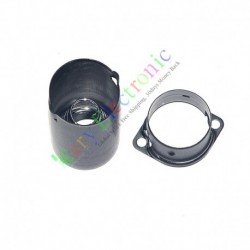 9pin Tube Sockets Shield Cover for Audio AMP 12ax7 12au7 Ecc82 Ecc83 Black