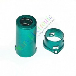 9pin Tube Sockets Green Shield Cover for Audio AMP 12ax7 12au7 Ecc82 6cu7