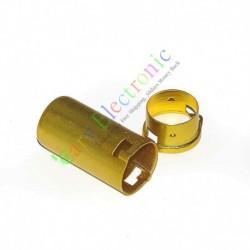 9pin Tube Sockets Shield Cover for Audio AMP 12ax7 12au7 Ecc82 Ecc83 Yellow