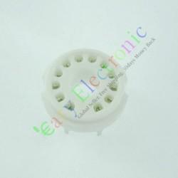 12 PIN Ceramic PCB Vaccum Tube Socket for 50ca10 Audio Tube Amp Parts