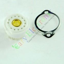 13pin Ceramic Vacuum Tube Socket Valve Base Mount Radio Amps Audio Diy Parts