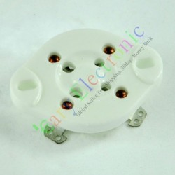 4pin Chassis Ceramic Vacuum Tube Socket Silver Base U4a for 300b 811 45 71a
