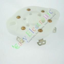 6 PIN Ceramics Vaccum Tube Socket Saver for Vt57 Vt58 Audio Tube Amp Parts