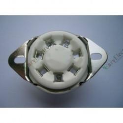 7pin Ceramic Vacuum Tube Socket Top Mount Valve Fr 2a7 6a7 Audio Amp Diy