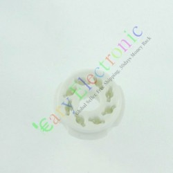 8pin Ceramic vacuum tube socket octal valve base Fr KT88 EL34B 6550 6SN7 amp