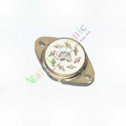 Gold 8pin PCB Ceramic Vacuum Tube Sockets Octal Valve Base Fr El34 Kt88 6550