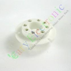 8pin Ceramic Vacuum Tube Sockets Valve Base Fr Fu50 Gu50 Lv3 5u8c 5u9c Fu15