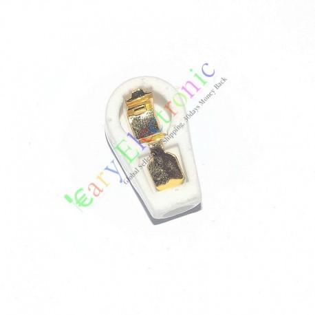 pcs Gold 6.3mm Tube Anode Caps Ceramic Socket for Ef37 Ef39 12e1 6j7 6k8 6k7
