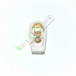 7.4mm Gold Tube Anode Caps Ceramic Socket for Vacuum Sp42 Vp41 Radio Amp DIY