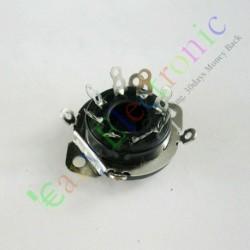 8pin Bakelite Vacuum Tube Socket Octal Valve Base Chassis El34 Kt88 6550 6sn7