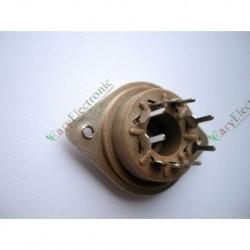 8pin Belton Style Vacuum Tube Socket PCB Mount Valve for El34 6550 Kt88