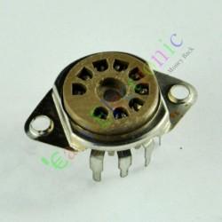 9 PIN PCB Vaccum Tube Socket Saver Base for 12ax7 12au7 Ecc82 Ecc83 Radio