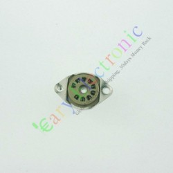 9 PIN Vaccum Tube Socket Saver Mount Fr 12ax7 12au7 Audio Tube Amp Diy Part