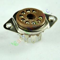 9 PIN Vaccum Tube Socket Saver Base Mount for 12ax7 12au7 Ecc82 Ecc83 Radio