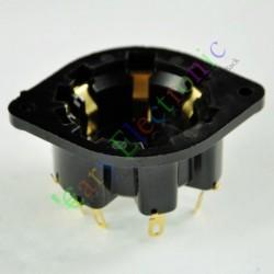 8 PIN Gilded Plastic Shuguang Vaccum Tube Socket Saver Audio Tube Amp Diy