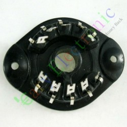 10pin Vacuum Tube Socket Valve Base El156 El12 Eyy13 Ef14 Az12 Audio Amp Diy