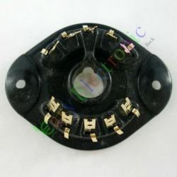 10pin Gold Vacuum Tube Socket Gilded Valve Base El156 El12 Eyy13 Ef14 Az12