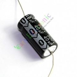 500v 40uf 105c Long Copper Leads Axial Electrolytic Capacitor Audio Amps