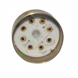8pin Gold Ceramics tube sockets valve base For 6N8 EL34 6550 audio amps DIY