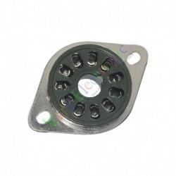 11pin Silver Copper Bakelite Vacuum Tube sockets audio amplifier radio DIY