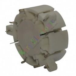 8pin Ceramic vacuum tube sockets HIFI audio amplifier radio DIY guitar part