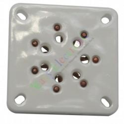 7Pin Gold Ceramic vacuum Tube sockets valve 813 FU-13 5-125B audio amps DIY