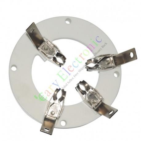 4Pin Ceramic vacuum Tube sockets valve for J212 audio amplifier DIY parts