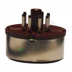 7Pin Red Bakelite Vacuum Tube sockets Saver base HIFI audio amplifier radio