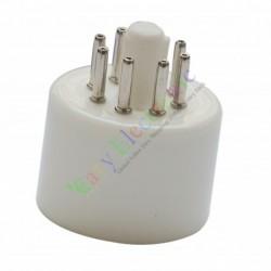 8pin Ceramic tube socket valve base Triode Rectifier KT88 EL34 6550 6SN7