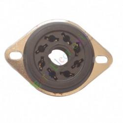 8Pin Gold bakelite Vacuum Tube Socket Saver KT88 EL34B 6550 AUDIO tube amps