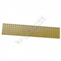 copper plated Gold Fiberglass Turret Terminal Strip 60pin Lug Tag Board DIY