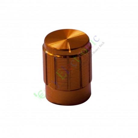 13mm Pedal Top skirted Gold knob Guitar tube Amp JAZZ BASS audio DIY parts