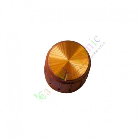 15mm pedal top skirted gold knob guitar tube amp jazz bass audio diy parts. Black Bedroom Furniture Sets. Home Design Ideas