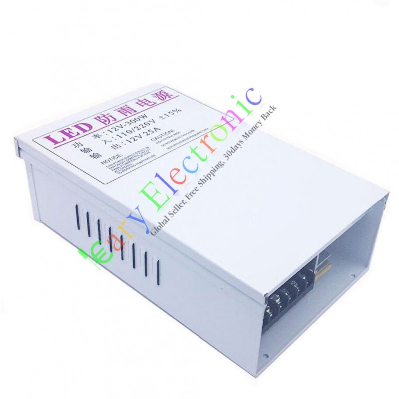 12V 25A 300W AC/DC Driver Switch Power Supply Adapter