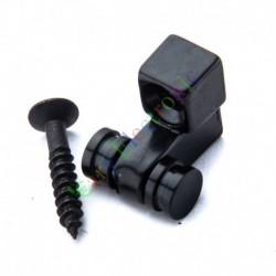 Black Electric Guitar Neck Ball Press Button Screw Musical Instrument Parts