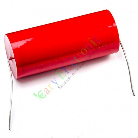 MKP 400V 25uf long copper leads Axial Electrolytic Capacitor audio amp part